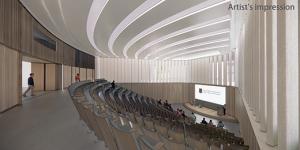 Artist's impression of Auditorium